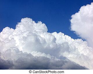 oben, der, himmelsgewölbe
