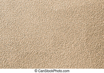 oberfläche, wand, von, steine, und, sand, stuck,...