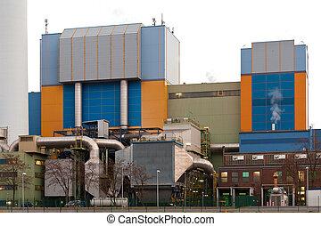 oberhausen, waste-to-energy, moderno, alemania, planta