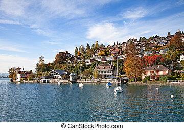 Oberhofen village