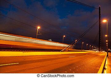 oberkasseler, γέφυρα