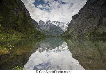 Obersee, Bavarian Alps, Germany