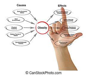 obesity:, causes, effets