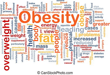 Obesity fat background concept - Background concept...