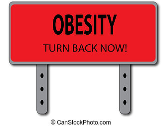 Obesity Sign Concept