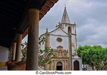 Obidos church 01