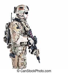 obieżyświat, armia nas