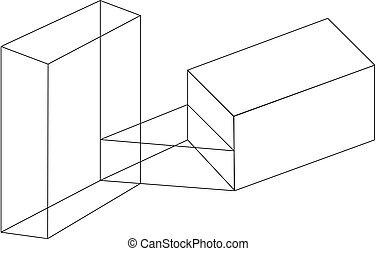 obiekt, isometric