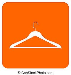 obiekty, collection:, ubranie wieszak