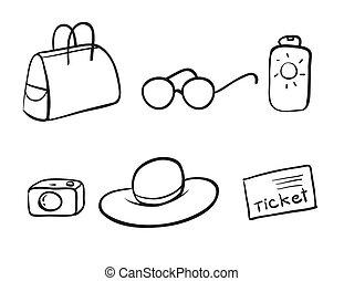 obiekty, różny