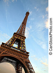 objazd d'eiffel, paryż