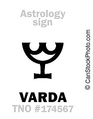 object), astrology:, varda, (trans-neptunian