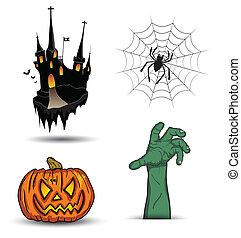 Object halloween set