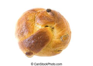 bun with sultana