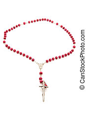 Vatican beads with cross