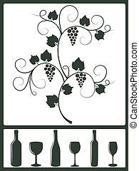 objects., desenho, winery