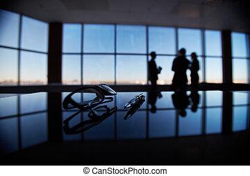 objekt, workplace, affär