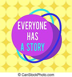 objet, multicolour, a, écriture, modèle, texte, fond, contour, contes, dire, mot, design., ton, business, format, story., asymétrique, formé, everyone, art conter, inégal, concept, mémoires