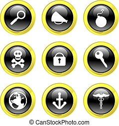 objeto, iconos