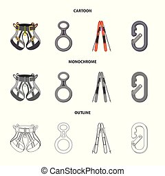 objeto, símbolo, campo, web., aislado, colección,...