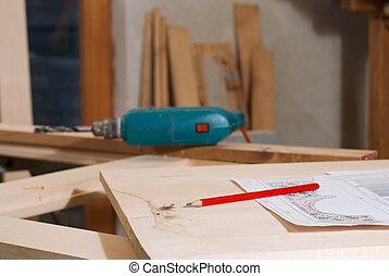 objetos, carpenter's
