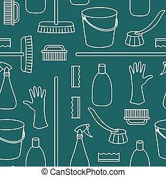 objets ménage, nettoyage