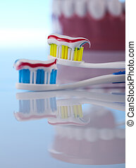 objets, soin dentaire, santé