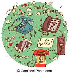objets, télécommunications, no.4.