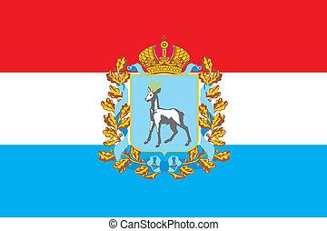 obl, bandera, samara