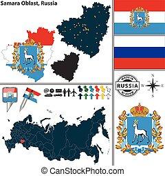 oblast, rusia, samara