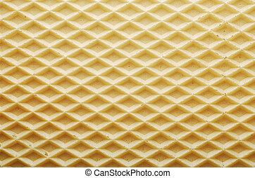 oblea, textura