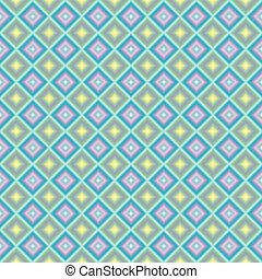 oblic, pastel, cuadrados, extendido