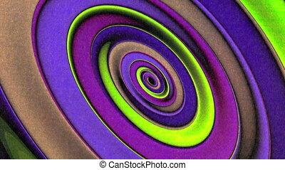 Oblong Ellipses Spinning Geometry