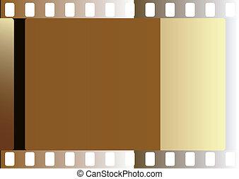 obnaża, film, (vector)