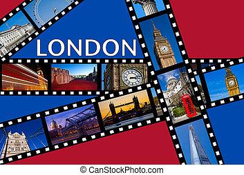 obnaża, londyn, film