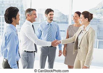 obout si, setkání, povolání, employee's