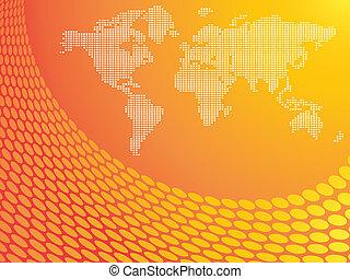 obrázkový, mapa světa
