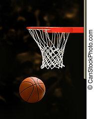 obręcz, koszykówka