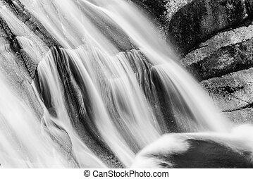 obr, harrachov, čech, podzim, národnostní, vodopád, sad, republic., krkonose, mumlava, hory