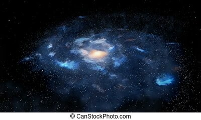 obracający, galaktyka