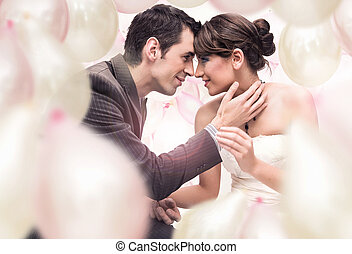 obraz, romantyk, ślub