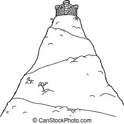 obrys, věž