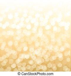 obscurecido, ouro, fundo