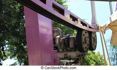 Observation wheel mechanism