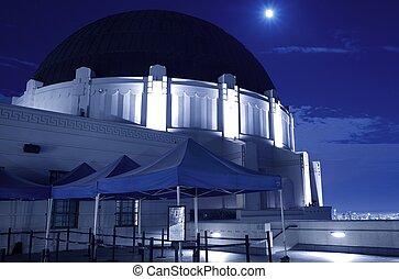 observatorio, griffith, noche