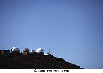 observatory on the Haleakala summit