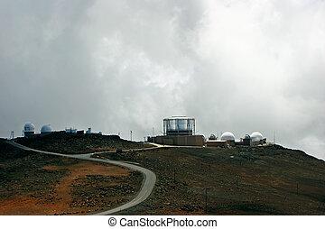 Observatory Research Center Haleakala National Park Maui...
