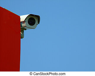 observer - A security camera is observing the area