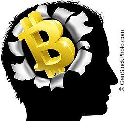 obsesionado, con, bitcoin
