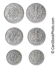 obsolete polish coins